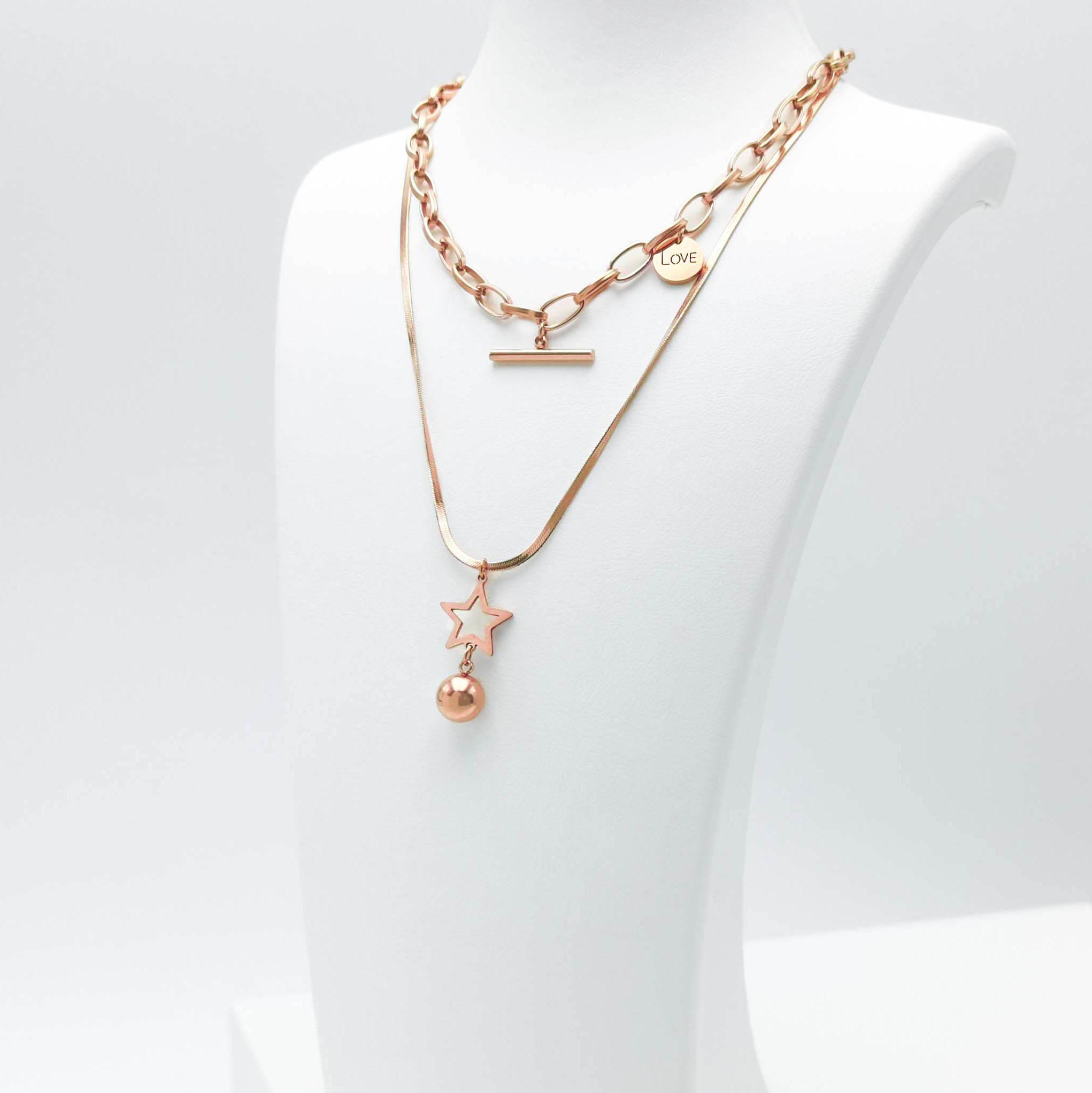 Full Of Love bild 2 Dam halsband. Modern, stilren och exklusive Smycke.