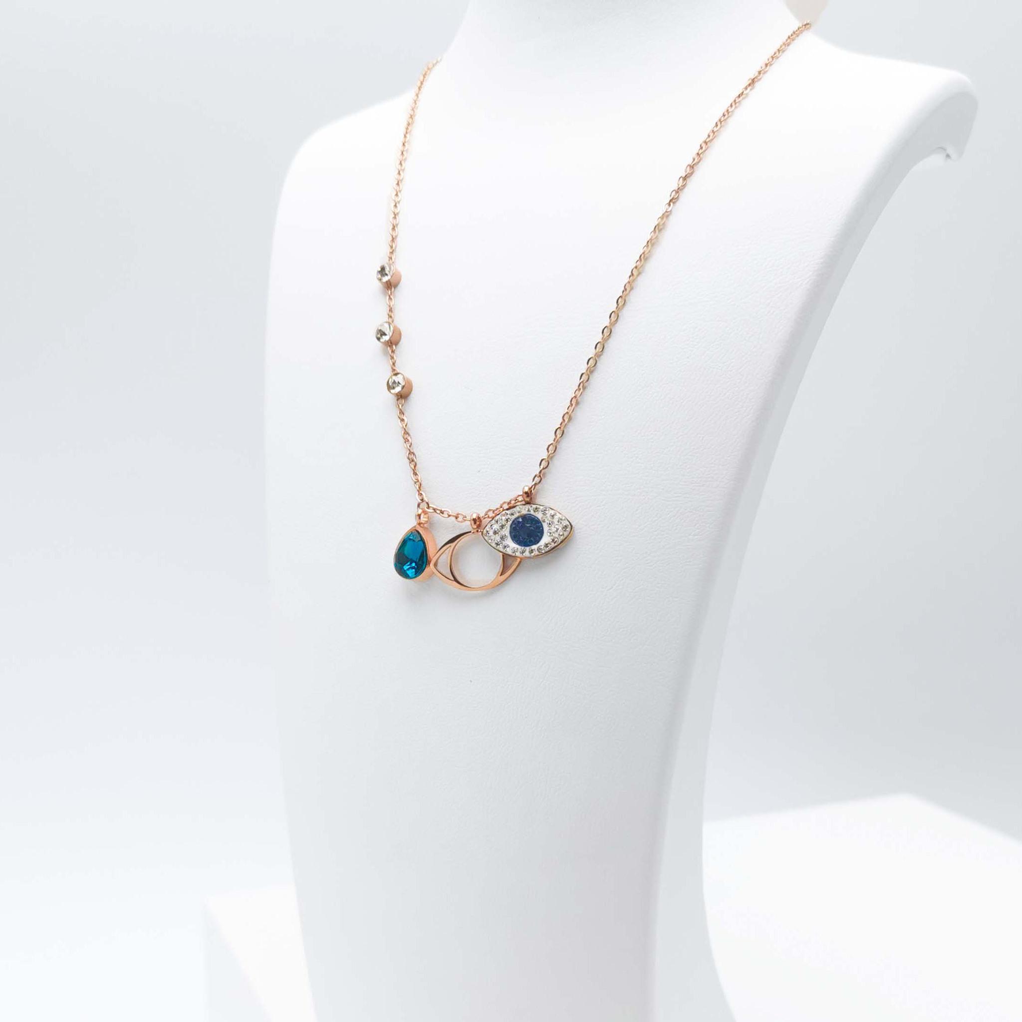 Lady Serenity bild 3 Dam halsband. Modern, stilren och exklusive Smycke.