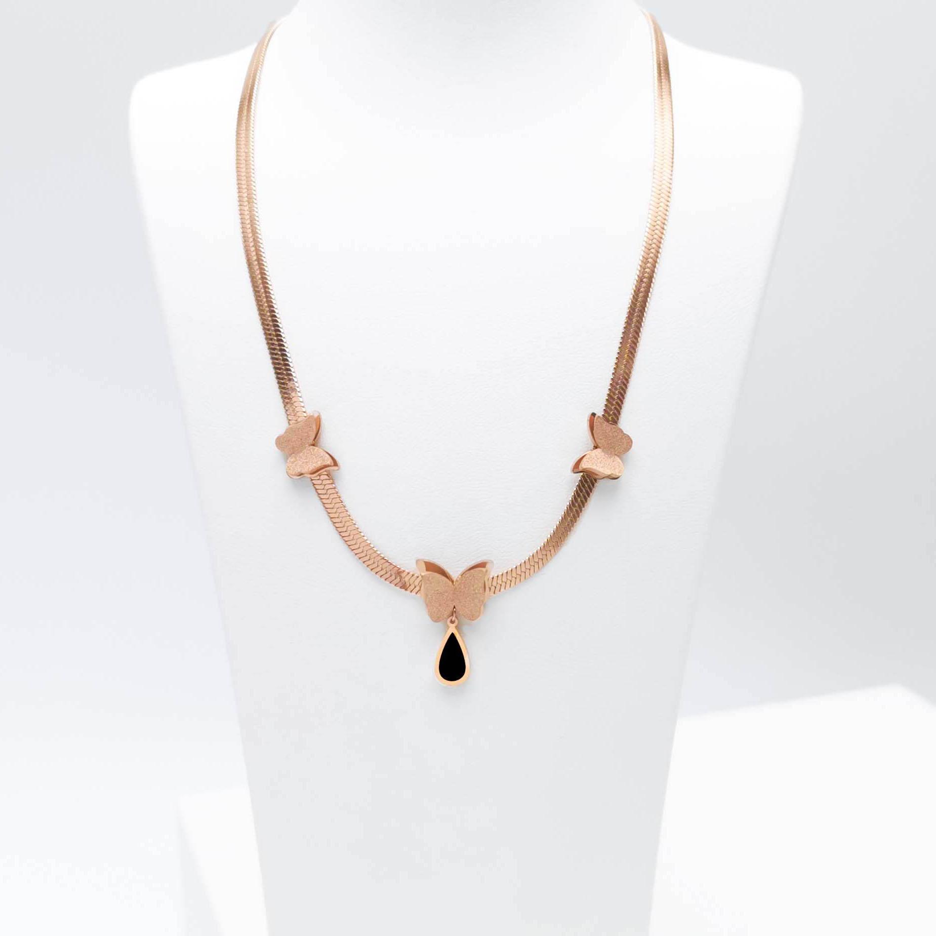 Queen Butterfly Ultimate Beauty bild 1 Dam halsband. Modern, stilren och exklusive Smycke.