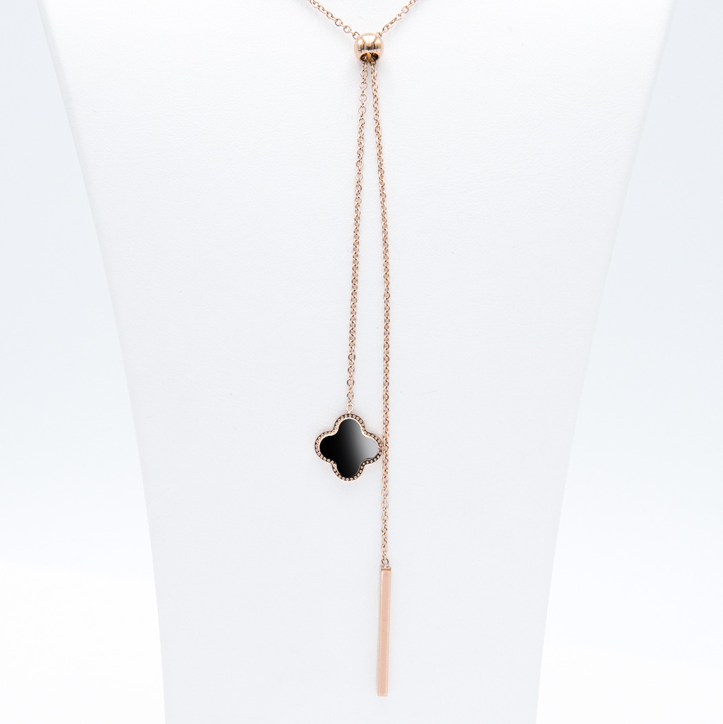 3- Clover Grace Brace Rose Edition Halsband Modern and trendy Necklace and women jewelry and accessories from SWEVALI fashion Sweden