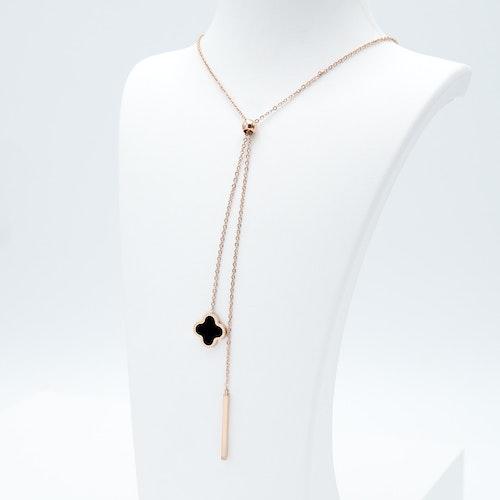 Clover Grace Brace Rose Gold Edition Halsband - SWEVALI