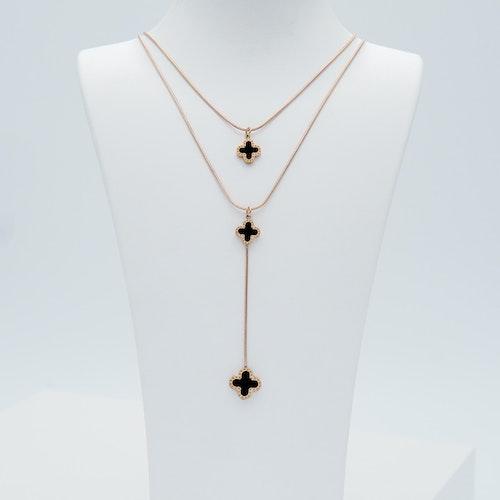 Clover Lucky Forever Rose Gold Edition Halsband - SWEVALI