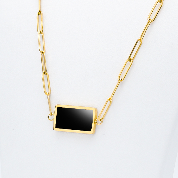 3- Gold in night Gold Edition Halsband Modern and trendy Necklace and women jewelry and accessories from SWEVALI fashion Sweden
