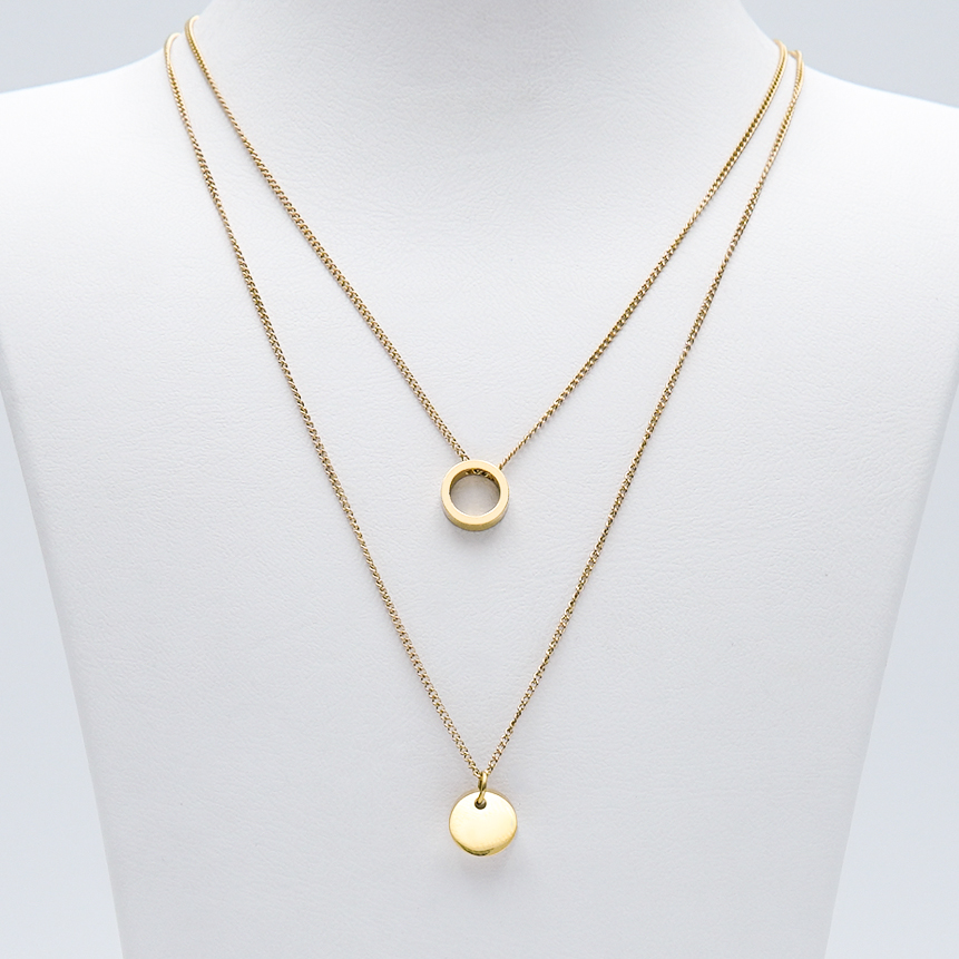 3- Just For You Gold Edition Halsband Modern and trendy Necklace and women jewelry and accessories from SWEVALI fashion Sweden
