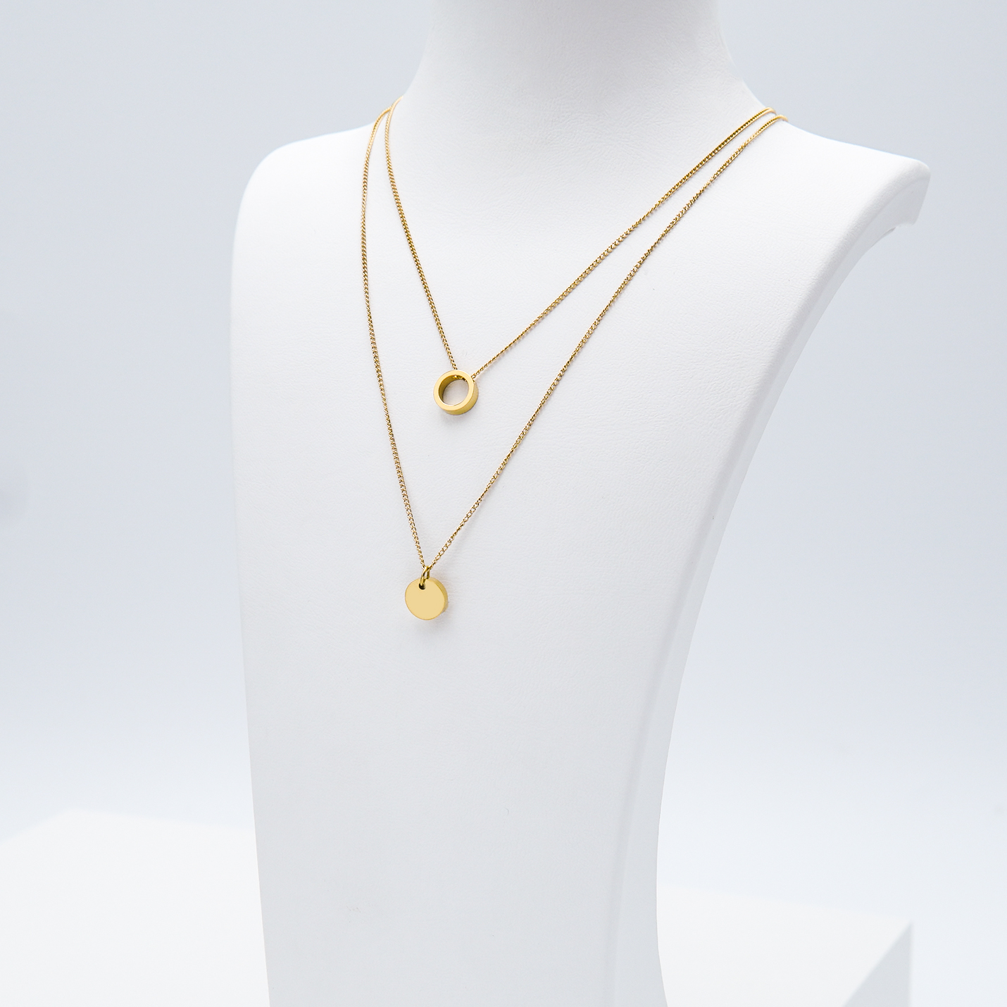 2- Just For You Gold Edition Halsband Modern and trendy Necklace and women jewelry and accessories from SWEVALI fashion Sweden