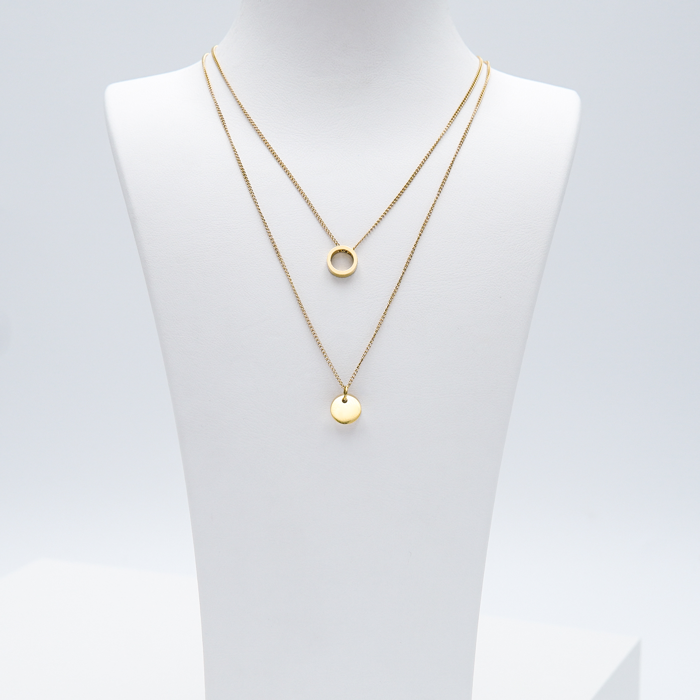 1- Just For You Gold Edition Halsband Modern and trendy Necklace and women jewelry and accessories from SWEVALI fashion Sweden
