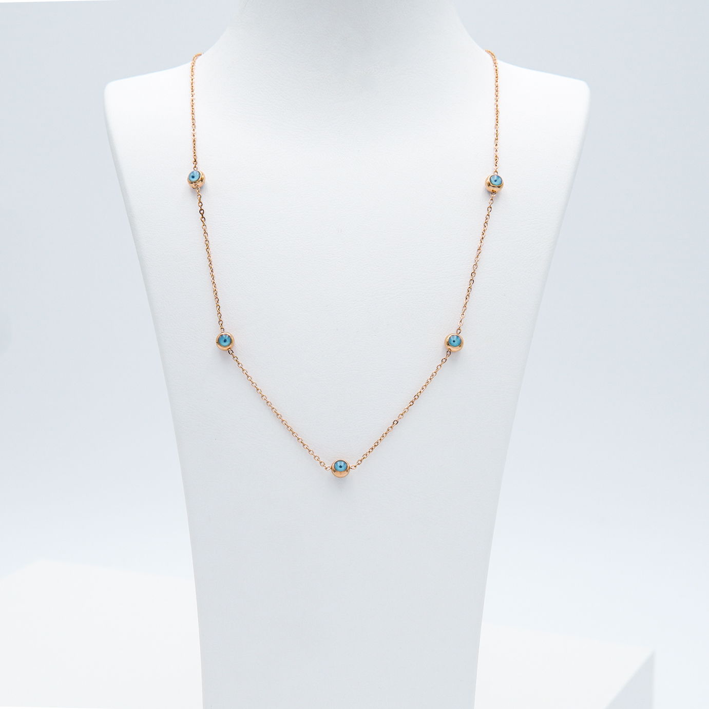 1- Onda ögat Ultimate  Rose Edition Halsband Modern and trendy Necklace and women jewelry and accessories from SWEVALI fashion Sweden