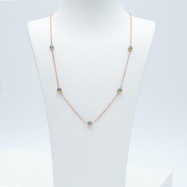 Onda ögat Ultimate  Rose Gold Edition Halsband - SWEVALI