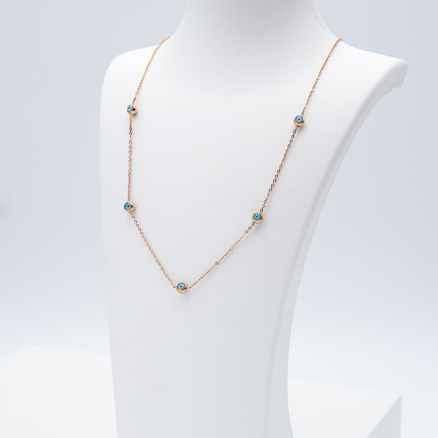 2- Onda ögat Ultimate  Rose Edition Halsband Modern and trendy Necklace and women jewelry and accessories from SWEVALI fashion Sweden