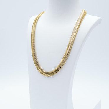Marilyn Monroe Necklace Gold Edition Halsband - SWEVALI