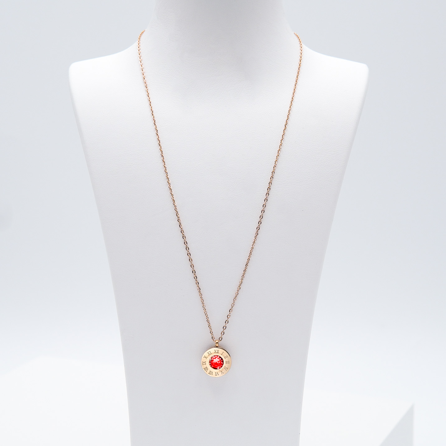 2- 4 Queen Diamonds Necklace Rose Edition Halsband Modern and trendy Necklace and women jewelry and accessories from SWEVALI fashion Sweden