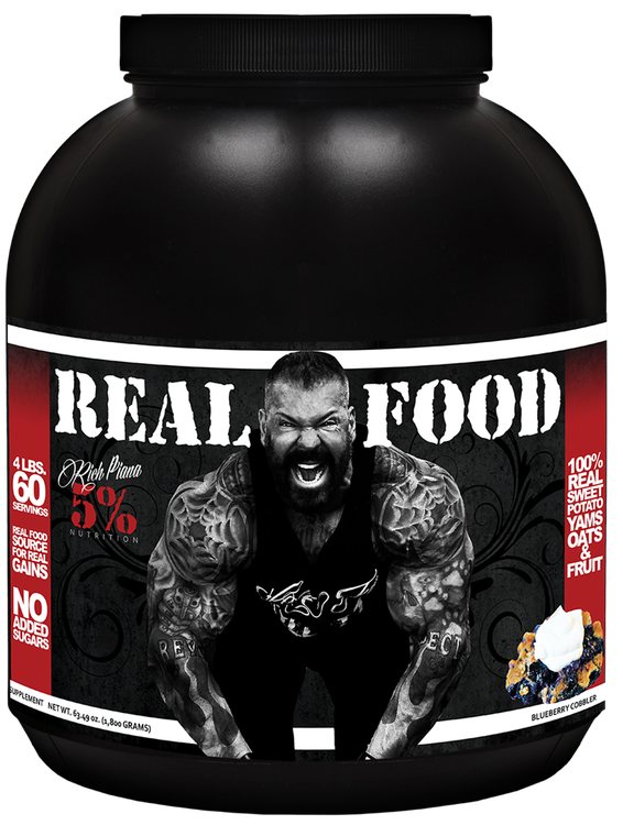 Rich Piana 5% Nutrition REAL FOOD 1,8KG