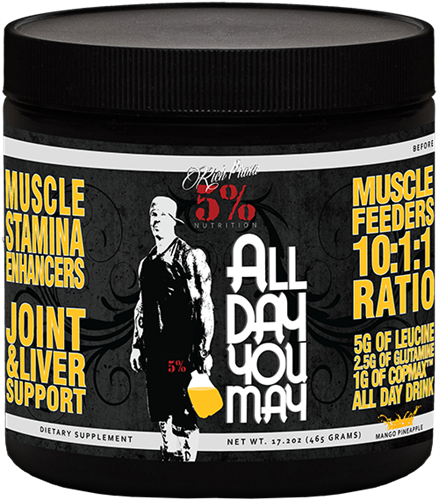 Rich Piana 5% Nutrition ALL DAY YOU MAY 0,465kg