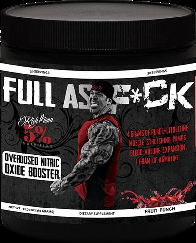 Rich Piana 5% Nutrition FULL AS F*CK 0,360kg