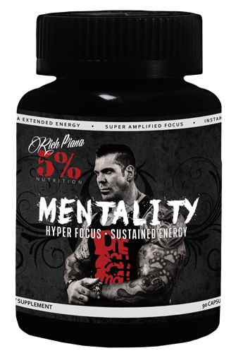 Rich Piana 5% Nutrition Mentality 90kaps
