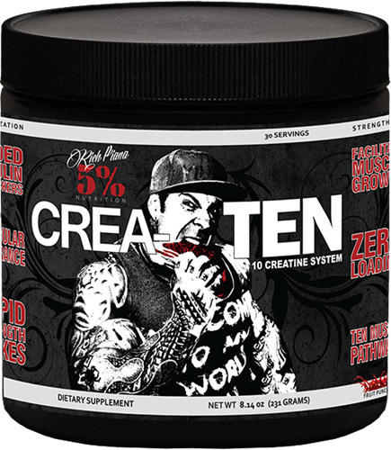 Rich Piana 5% Nutrition CREA-TEN 0,231kg