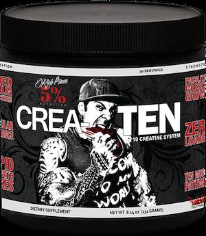 Rich Piana 5% Nutrition CREA-TEN 0,231kg