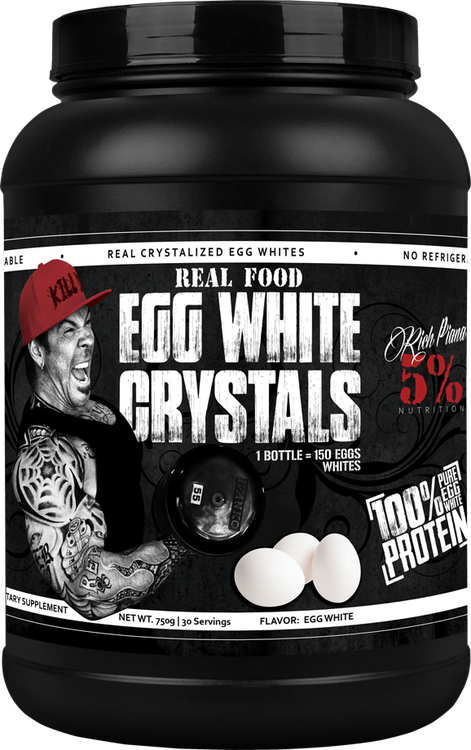 Rich Piana 5% Nutrition Real Food Egg White Crystals 0,81kg