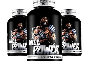 Iron Addicts Brand WILL POWER 60kaps