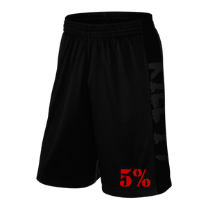 Rich Piana 5% Apparel Shorts Loveit KILLIT Svart/Röd