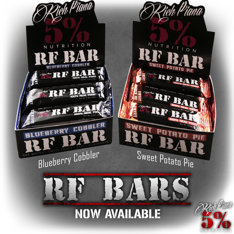 Rich Piana 5% nutrition REAL FOOD BAR