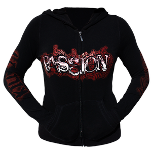 Rich Piana 5% Apparel Women's Hoddie Passion