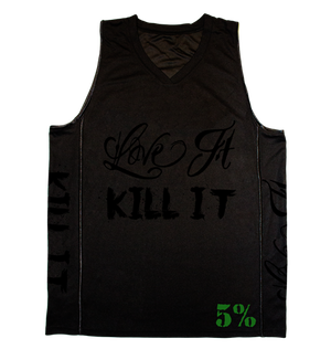Rich Piana 5% Apparel Jersey Love it Kill it - Svart/Svart