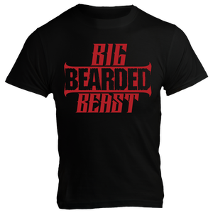 Rich Piana 5% Apparel T-Shirt BIG BEARDED BEAST