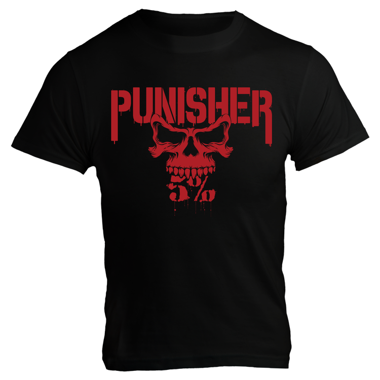 Rich Piana 5% Apparel T-Shirt PUNISHER
