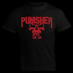 Rich Piana 5% Apparel T-Shirt PUNISHER