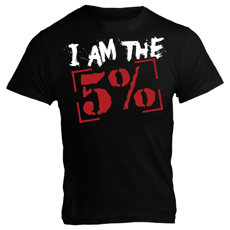 Rich Piana 5% Apparel T-Shirt I AM THE 5%