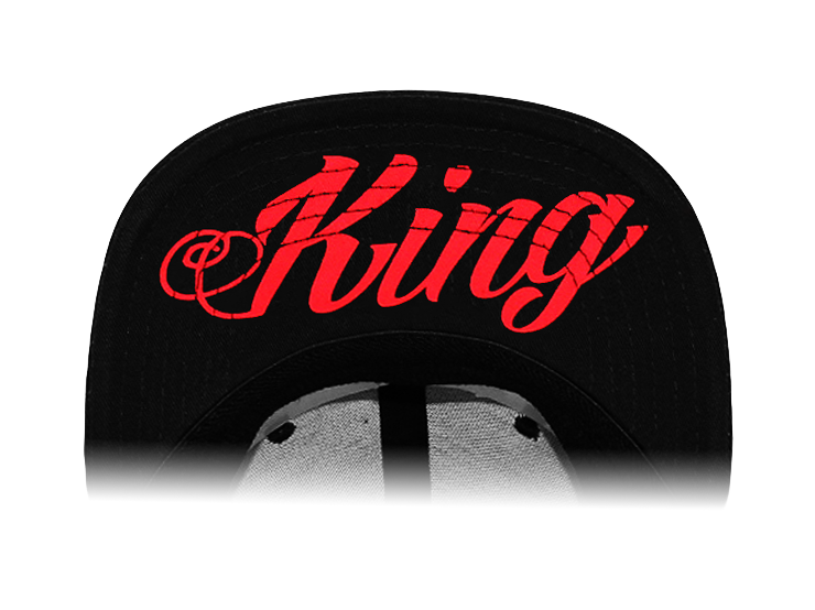 Rich Piana 5% Apparel Keps King Svart/Röd