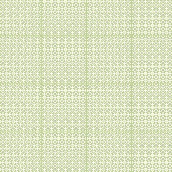 Dekorplast (45 x 200 cm) -  Cirklar Gröna