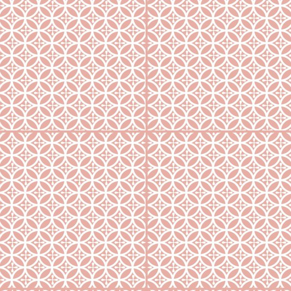 Dekorplast (45 x 200 cm) -  Cirklar Persika