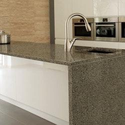 Dekorplast (45 x 200 cm) - Granit Svart