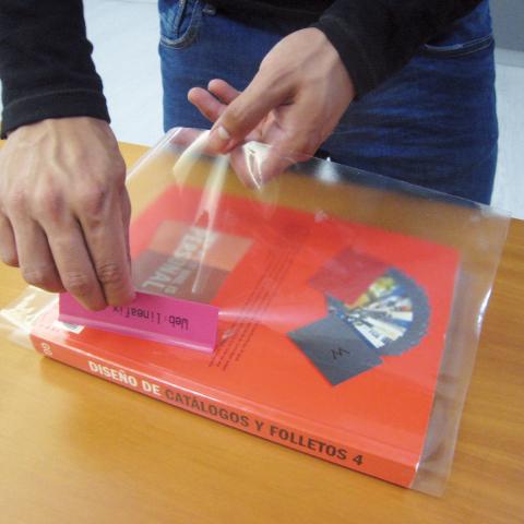 Dekorplast (45 x 200 cm) - Transparent