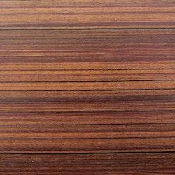 Dekorplast (45 x 200 cm) -  Randig Mörk trä