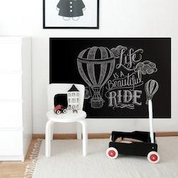 Dekorplast (90 x 200 cm) - Chalkboard självhäftande
