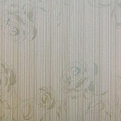 Dekorplast (90 x 200 cm) - Rosor i silver