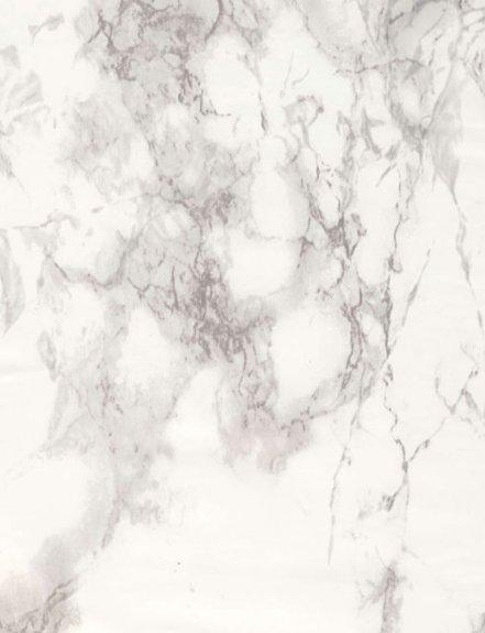 Dekorplast (metervara) - Marmor Vit & Grå