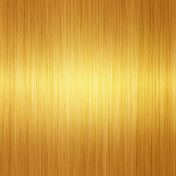 Dekorplast (metervara) - Metallic Borstad Guld