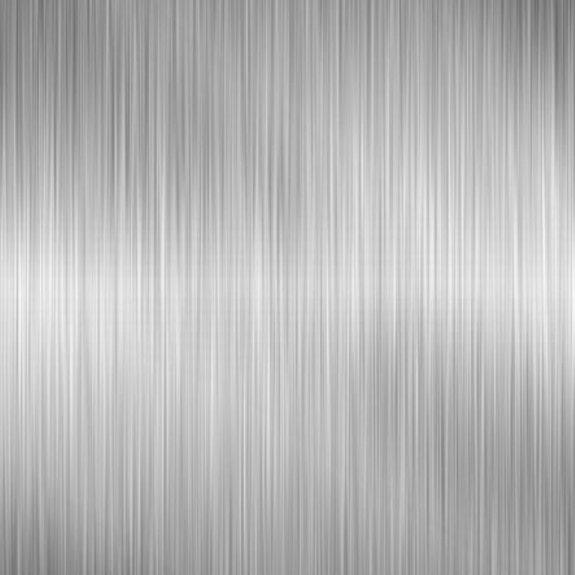 Dekorplast (metervara) - Metallic Borstad Silver