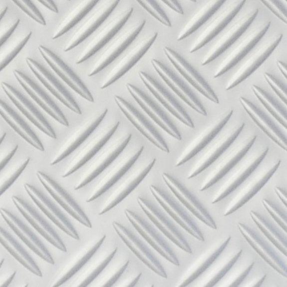 Dekorplast (metervara) - Räfflad metall (matt)
