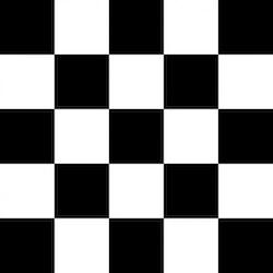 Dekorplast (metervara) - Schackrutor
