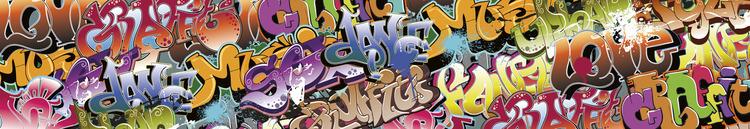 Splashback stänkskydd - GRAFFITI