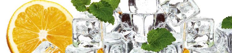 Splashback stänkskydd - LEMON & ICE