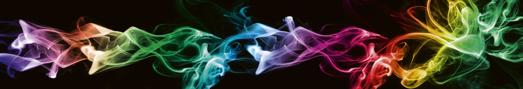 Splashback stänkskydd - BLACK SMOKE
