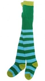 Strumpbyxor Barn Stripe Grön Turkos