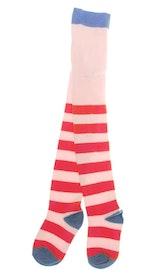 Strumpbyxor Barn Stripe Röda Rosa