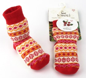 Lingonberry Baby Sock